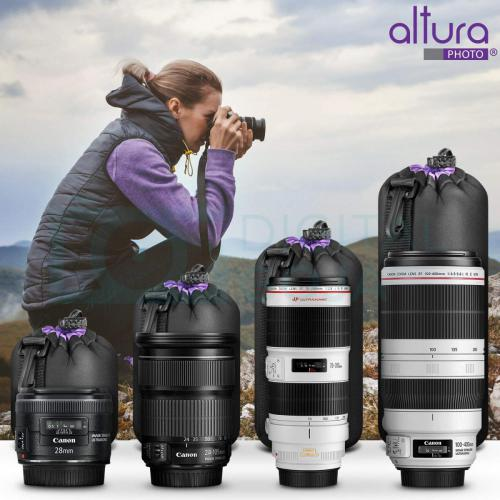 Altura Photo Thick Protective Lens Pouch